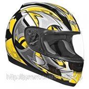 Шлем ALTURA Shuriken желтый/черн. матовый S фото