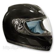 Шлем VEGA ALTURA Solid черный глянцевый XXL фото