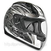 Шлем Vega ALTURA Slayer серый/черный. глянцевый. M фото