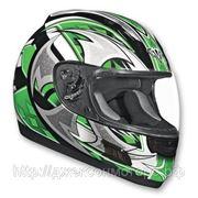 Шлем ALTURA Shuriken зелено/черн. матовый M фото