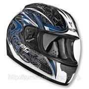 Шлем Vega ALTURA Slayer синий/черный. глянцевый. S фото