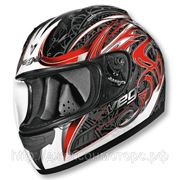 Шлем Vega ALTURA Slayer красно/черный. глянцевый M фото