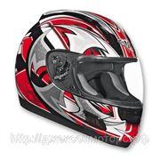 Шлем ALTURA Shuriken красно/черн. глянцевый XL фото