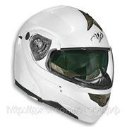 Шлем Vega модуляр HD185 белый глянцевый S фото