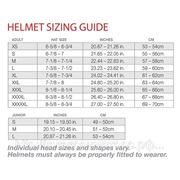 Размеры шлемов VEGA фото