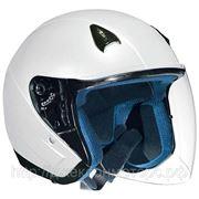 Шлем NT-200 Solid белый глянцевый S фото
