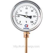 Биметаллический термометр (радиальный) БТ-32.211 фото