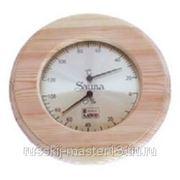 Термогигрометр Круглый, SAWO 231-THA (осина)