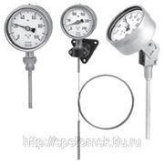 Манометрический термометр, серия из нержавеющей стали Модель 73 (A73.100; R73.100; S73.100)