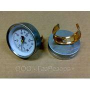 Термометр стрелочный на трубу (d 40-60 мм) ТБП63Ю/Тр50 (0-120) фото