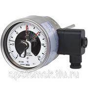 Биметаллический термометр с электроконтактами. Исполнение в нержавеющей стали. Модель 55. (TV 25.01)