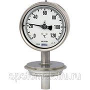 Манометрический термометр для стерильных процессов, серия из нержавеющей стали. Модель 74. (TM 74.01)