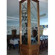 Панно зеркальное в оформлении колонны фото