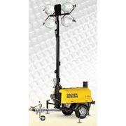 Осветительная вышка WACKER NEUSON LTN 6L(Германия)-4х1000Вт, 8,5 Квт, 9м фото