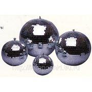Зеркальные шары с двигателем фото