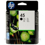 Заправка картриджа HP 45 (51645AE) для принтера HP DJ712,720,722,820,830,832,850,855