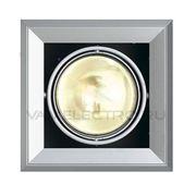 Светильник встраиваемый AIXLIGHT MOD серебристый / черный 154052 фото