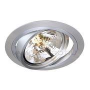 Светильник встраиваемый NEW TRIA алюминий 111370 фото