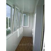 Остекление балконов и лоджий ПВХ профилем