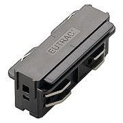 Коннектор прямой внутренний электрический EUTRAC серебристый 145564