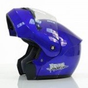 Мотошлем модуляр YM-920 Blue фото