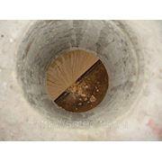 Отверстия в бетоне фото