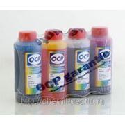 Комплект чернила OCP для картриджей CANON* PG-37/40/50, CL-38/41/51 (BKP 44, C, M, Y 95) 100 gr x 4 фото