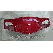 Облицовка спидометра передняя Scorpion (F2) красная фото