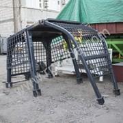 Защита кабины бульдозера Шантуй Shantui SD16 фото