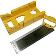Стусло пластиковое с ножовкой 20807 фото