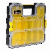 Органайзер Stanley FatMax Shallow Pro Plastic Latch 44,6 x 7,4 x 35,7 см, модульный 1-97-519 фото