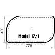 Бювар из кожи CUOIETTO, Model 17-1 (мет. вставка)