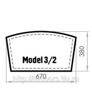 Бювар из кожи CUOIETTO, Model 3-2 (мет. вставка)
