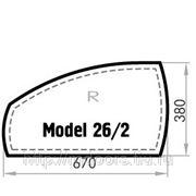 Бювар из кожи CUOIETTO, Model 26-2 (мет. вставка)