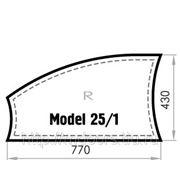 Бювар из кожи CUOIETTO, Model 25-1 (мет. вставка)