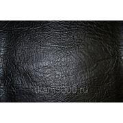 Кожзам обивочный черный фото