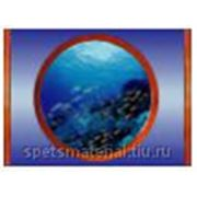 """Стандартное флуоресцентное полиэстровое полотно-обои """"Submarine 1 """" фото"""