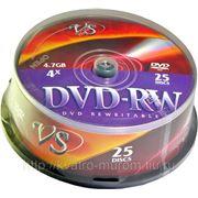 Диск DVD-RW VS 4-12x 700 mb