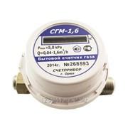 Счетчик газа малогабаритный СГМ-1.6 фото