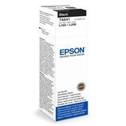 Контейнер с чернилами Epson C13T66414A Black original фото