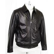 Куртка кожаная RM 186.1 фото