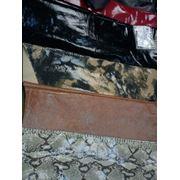 Натуральная кожа под змею от дизайнеров Италии в СПб на куртку или пальто фото