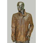 Куртка кожаная EM 44747 фото