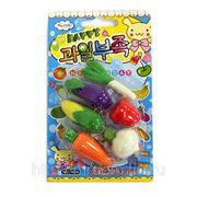 Ластики в наборе овощи n1014 (815926) фото
