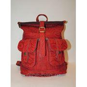 Рюкзак из натуральной кожи «Шик» фото