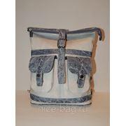 Сумка-рюкзак из кожи «Чайка» фото