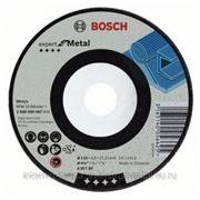 Диск BOSCH обдирочный,ф125х22.2х6мм,для металла фото