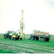 Прицеп – емкость ПЕ-2,5 с ложементами для труб и керноприемное устройство БП-150 на транспортной базе прицепа ГКБ-83412 (для комплекса оборудования фото