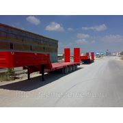 Трал раздвижной 4-х осный ADR (г/п 50 тонн)