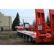 трал низкорамный грузоподъемностью 42 тонны